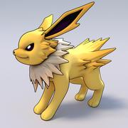 Jolteon Pokemon 3d model