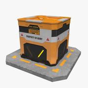 Sci-fi Box 3d model