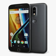 Motorola Moto G4 Plus Black 3d model