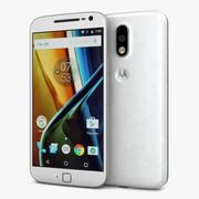 Motorola Moto G4 Plus Blanc 3d model