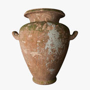Old Ceramic Vase 3d model
