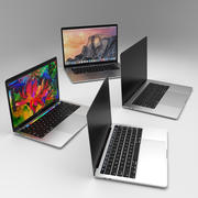 "Apple MacBook Pro Touch Bar 2016 13 ""15"" yeni mac kitabı 3d model"
