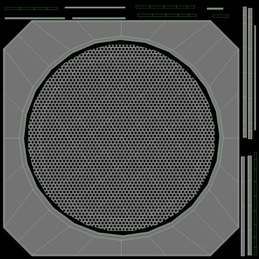 연사 royalty-free 3d model - Preview no. 22
