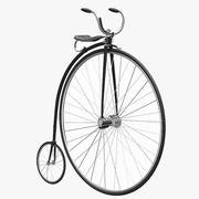 ハイホイール自転車 3d model