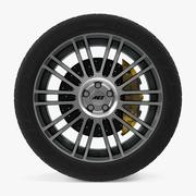 AEZ Strike Disk Car Wheel 3d model