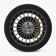 AEZ瓦伦西亚暗盘车轮 3d model