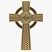 Krzyż celtycki 3d model