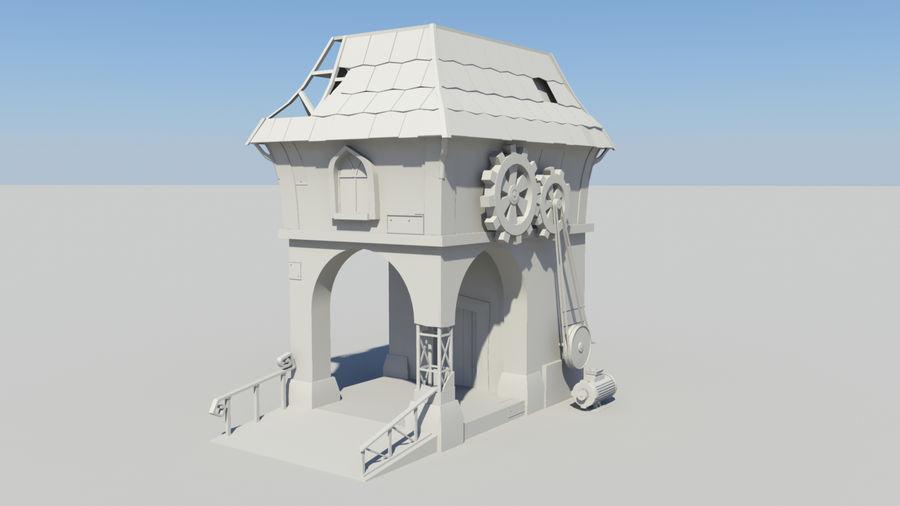 Architecture de jeu royalty-free 3d model - Preview no. 8