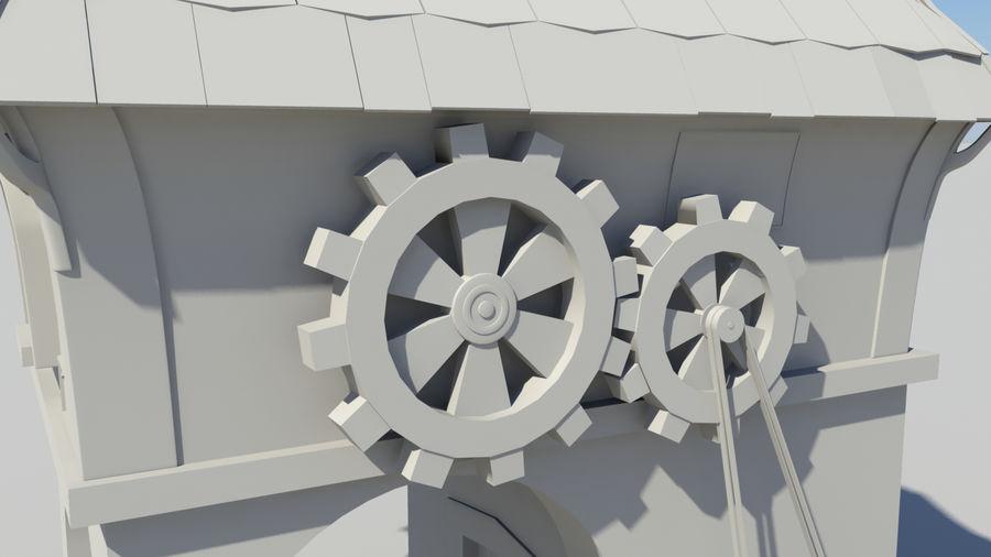 Architecture de jeu royalty-free 3d model - Preview no. 6