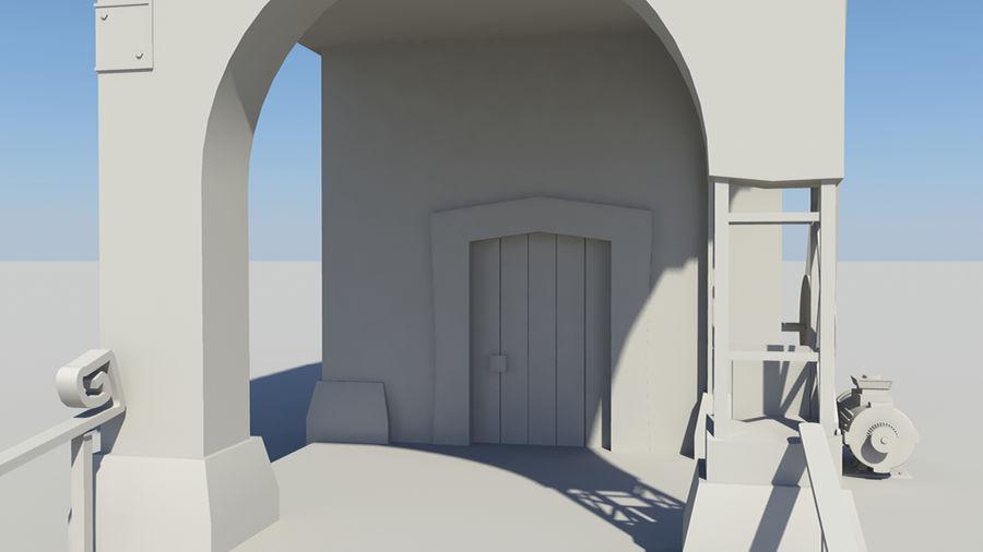 Architecture de jeu royalty-free 3d model - Preview no. 2