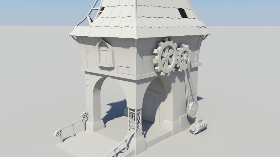 Architecture de jeu royalty-free 3d model - Preview no. 10