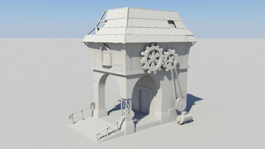 Architecture de jeu royalty-free 3d model - Preview no. 9