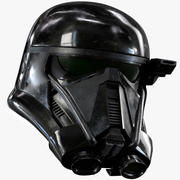 Death Trooper Helmet Utskrivbar 3d model