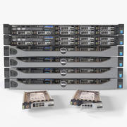 Dell PowerEdge R630 3d model