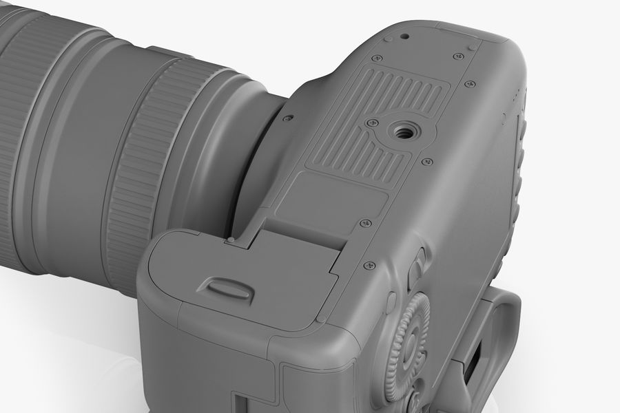 Spiegelreflexkamera Canon EOS 5D Mark III royalty-free 3d model - Preview no. 18