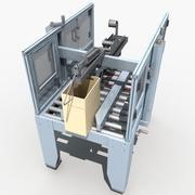 自動シール機 3d model