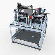 Automatic production equipment 3d model