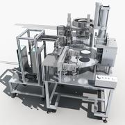 Automatic riveting machine 3d model