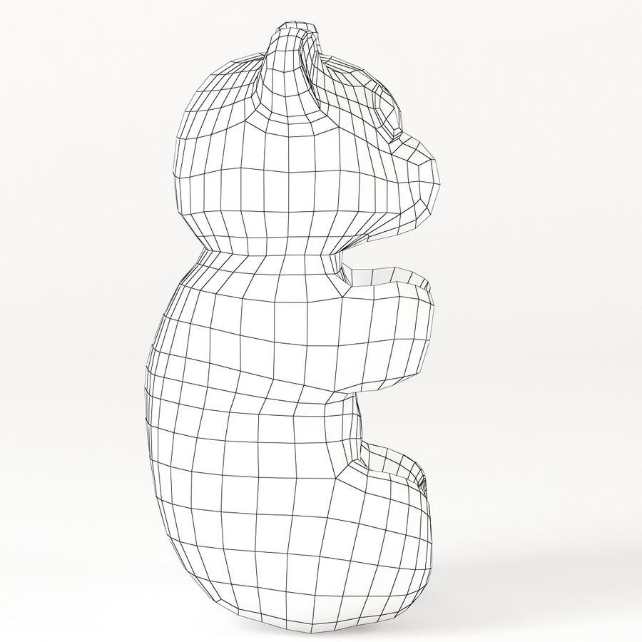 グミベア royalty-free 3d model - Preview no. 14