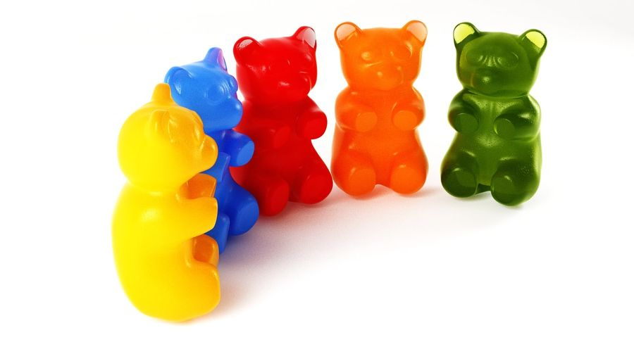 Gummy Bears royalty-free 3d model - Preview no. 19