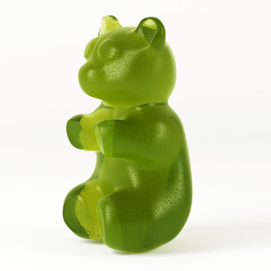 Gummy Bears royalty-free 3d model - Preview no. 16