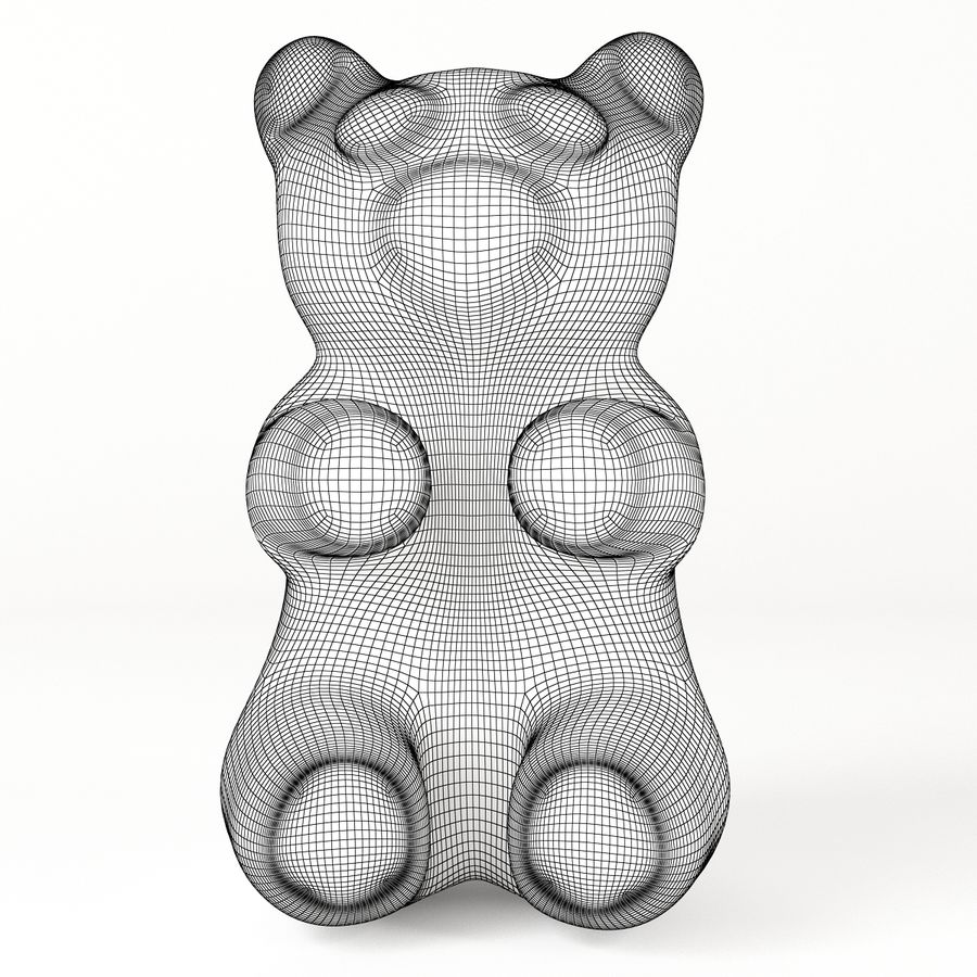 Gummy Bears royalty-free 3d model - Preview no. 12