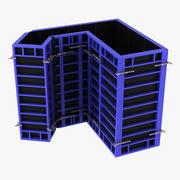 型枠パネル 3d model
