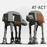 AT ACT Walker 3d model