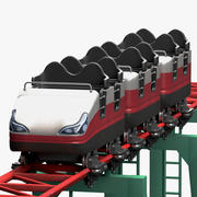 Roller Coaster Wagon 3d model