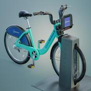 Bay Area Bikeshare 3d model
