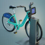 Bay Area Bikeshare 3d model