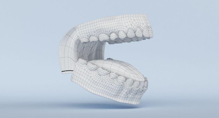 牙齿和牙龈 royalty-free 3d model - Preview no. 7