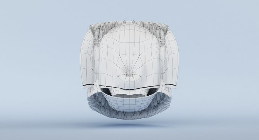 牙齿和牙龈 royalty-free 3d model - Preview no. 15