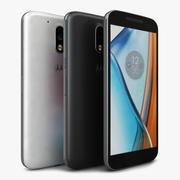Motorola Moto G4 모든 색상 3d model
