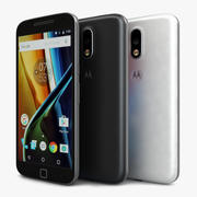 Motorola Moto G4 Plus All Colour 3d model