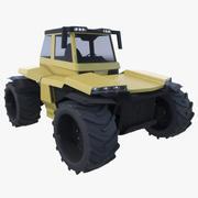 트랙터 개념 3d model