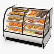 Lebensmittel-Merchandiser - Gekühlt 3d model