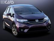 Honda Fit 3d model