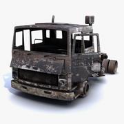 Lastbil bränd 01 3d model