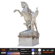 Caballo estatua modelo 3d