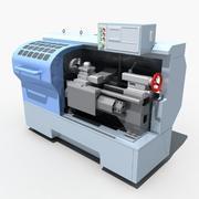 Tours CNC 3d model