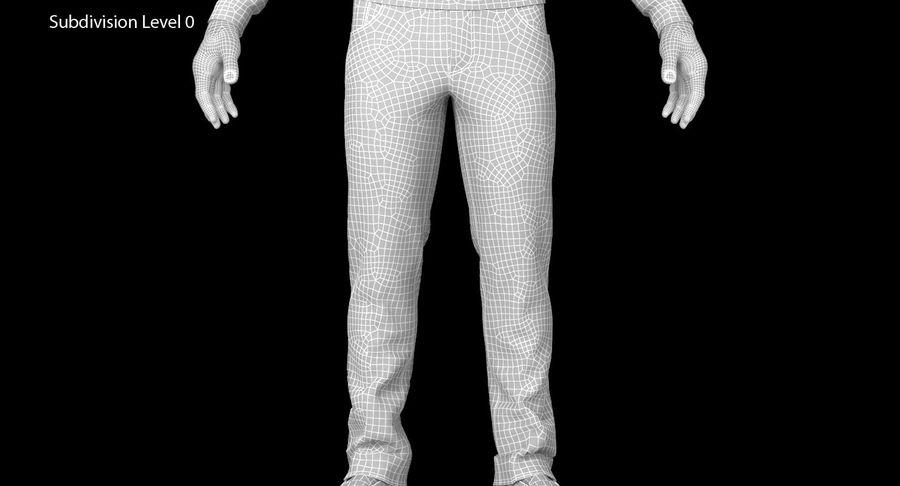 스웨터와 바지 001 royalty-free 3d model - Preview no. 18