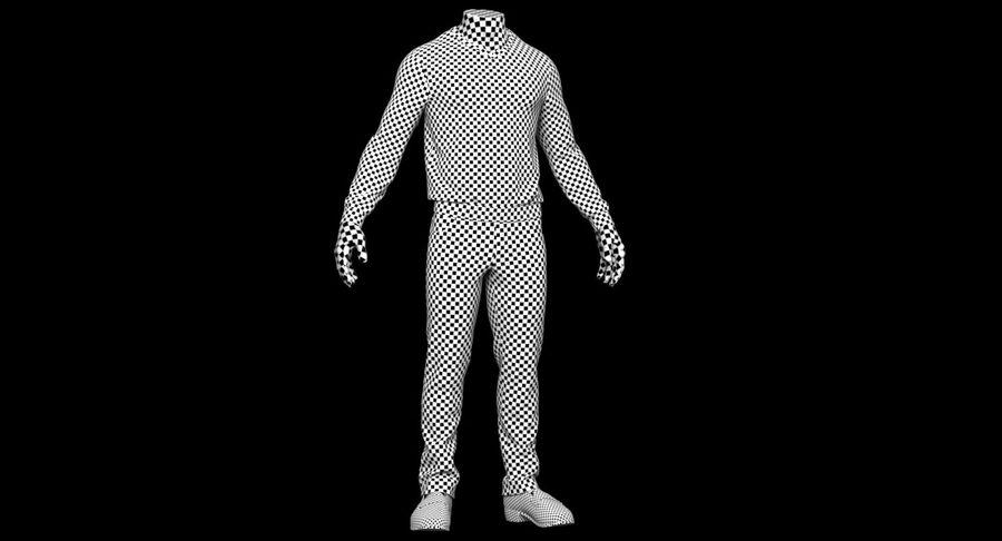 스웨터와 바지 001 royalty-free 3d model - Preview no. 26