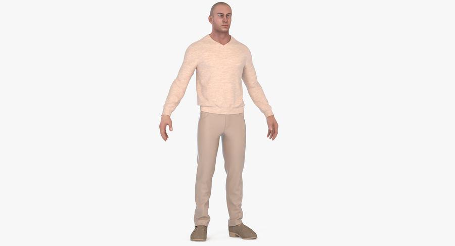 스웨터와 바지 001 royalty-free 3d model - Preview no. 13