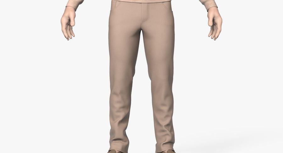 스웨터와 바지 001 royalty-free 3d model - Preview no. 7