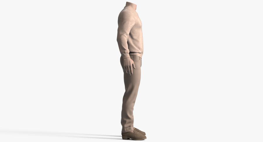 스웨터와 바지 001 royalty-free 3d model - Preview no. 6