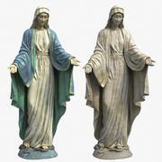 Statua Matki Boskiej 3d model