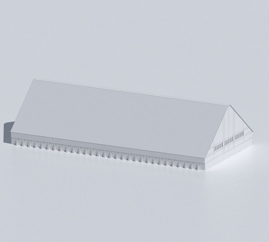 Factory 03 royalty-free 3d model - Preview no. 54