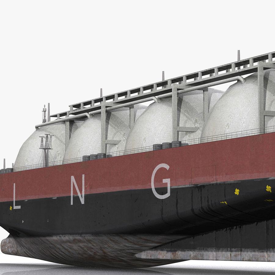 Autocisterna per GNL royalty-free 3d model - Preview no. 3