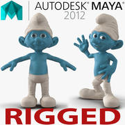 Smurf Rigged for Maya 3d model